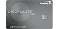 Capital One® QuicksilverOneSM Cash Rewards Credit Card