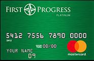 The First Progress Platinum Elite MasterCard® Secured Credit Card