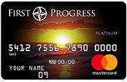 First Progress Platinum Select MasterCard(R) Secured Credit Card