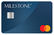 Milestone® Mastercard® with Choice of Card Image at No Extra Charge Review