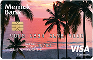 Merrick Bank Double Your Line™ Platinum Visa® Credit Card