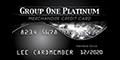 Group One Platinum Card